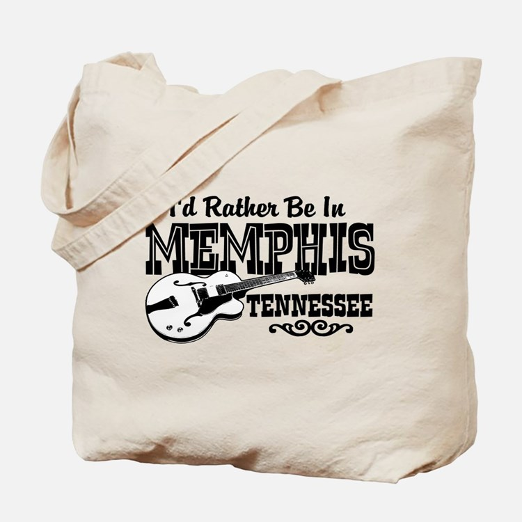 Memphis Tennessee Tote Bag
