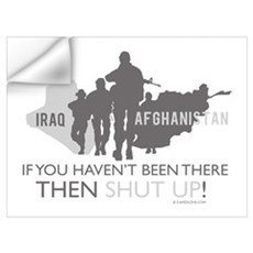 Iraq - Afghanistan Wall Decal