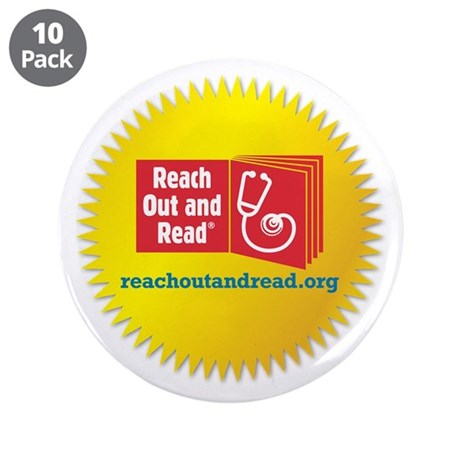 "Reach Out and Read 3.5"" Button (10 pack)"