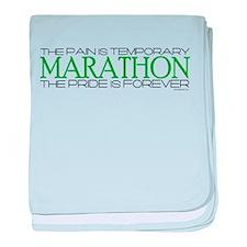 Marathon - Pride is Forever baby blanket