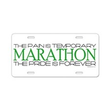 Marathon - Pride is Forever Aluminum License Plate