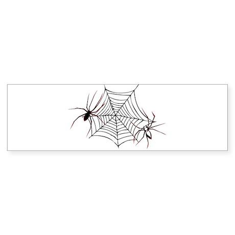 spider web Sticker (Bumper)