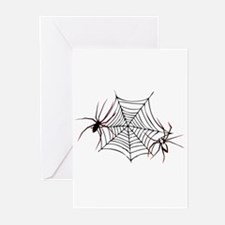 spider web Greeting Cards (Pk of 10)