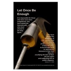 Let Once Be Enough Poster