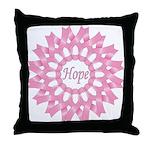 Circle of Hope Throw Pillow