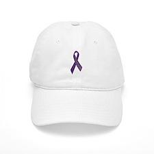 Purple Ribbon 'Survivor' Baseball Cap