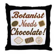 Botanist Gift Funny Throw Pillow