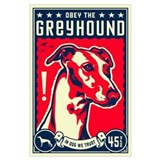 Greyhound dog Posters