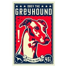 Obey the Greyhound! U.S. Poster