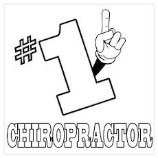 #1 - CHIROPRACTOR Poster
