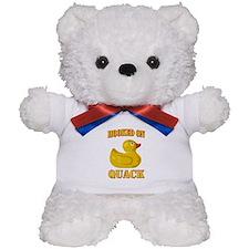 Hooked on Quack Teddy Bear