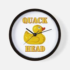 Quack Head Wall Clock