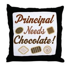 Principal Gift Funny Throw Pillow