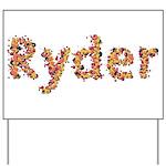 Ryder Fiesta Yard Sign