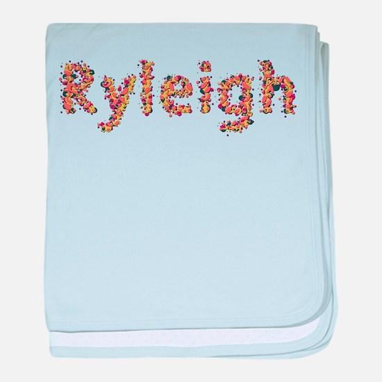Ryleigh Fiesta baby blanket