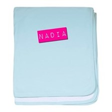 Nadia Punchtape baby blanket