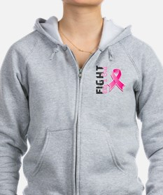 Licensed Fight Like a Girl Zip Hoodie