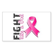 Licensed Fight Like a Girl Decal