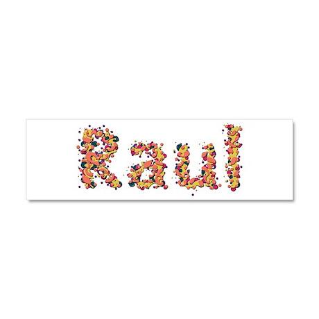 Raul Fiesta 10x3 Car Magnet