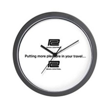 Pennn Central RR Travel Logo Wall Clock
