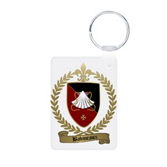 BABINEAUX Family Crest Keychains