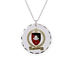 BABINEAUX Family Crest Necklace