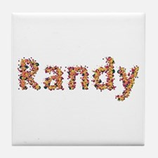 Randy Fiesta Tile Coaster