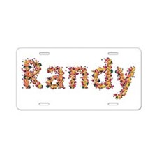 Randy Fiesta Aluminum License Plate