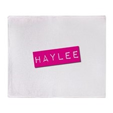 Haylee Punchtape Throw Blanket