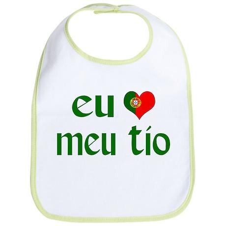 I love my Uncle (Portuguese) Bib