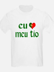 I love my Uncle (Portuguese) T-Shirt