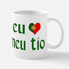 I love my Uncle (Portuguese) Mug