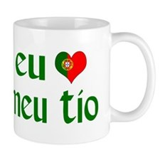 I love my Uncle (Portuguese) Mug