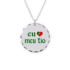 I love my Uncle (Portuguese) Necklace