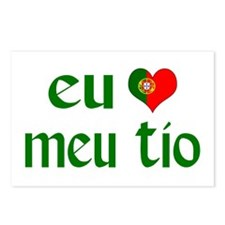 I love my Uncle (Portuguese) Postcards (Package of