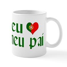 I love my Dad (Portuguese) Mug