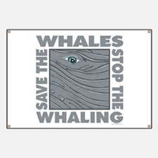 Save Whales Banner