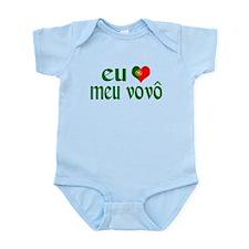 I love my Grandpa (Portuguese) Infant Bodysuit