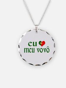 I love my Grandpa (Portuguese) Necklace