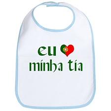 I love my Aunt (Portuguese) Bib