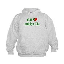 I love my Aunt (Portuguese) Hoodie