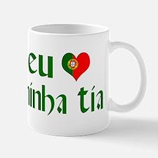 I love my Aunt (Portuguese) Mug