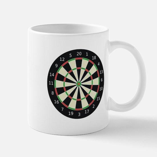 Dart Board Mug