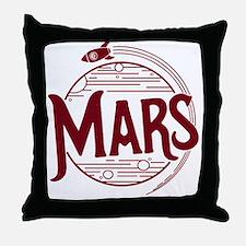 Unique Mars Throw Pillow