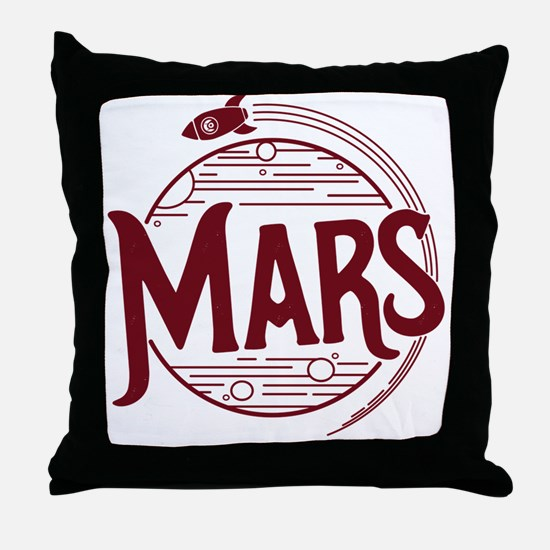 Cute Science fiction Throw Pillow