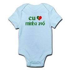 I love my Grandma (Portuguese) Infant Bodysuit