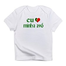 I love my Grandma (Portuguese) Infant T-Shirt