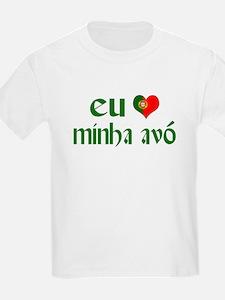 I love my Grandma (Portuguese) T-Shirt
