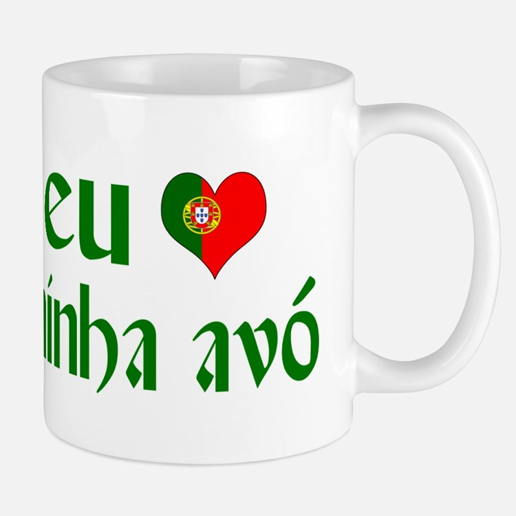 I love my Grandma (Portuguese) Mug