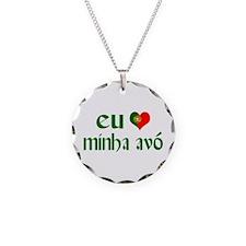 I love my Grandma (Portuguese) Necklace